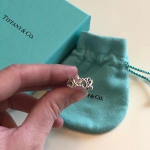 Tiffany & Co. heart ring size 5